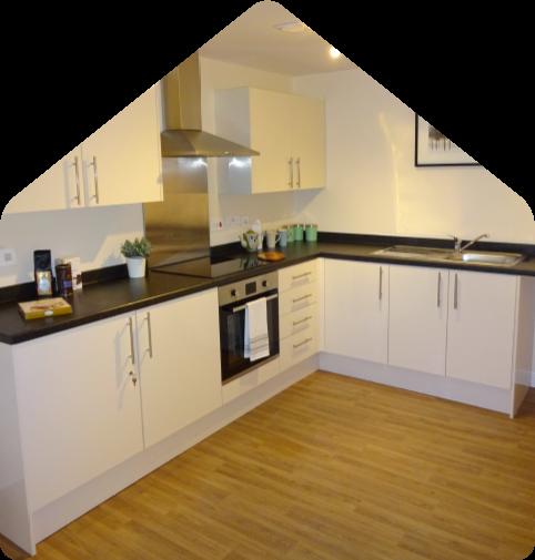 room example kitchen academy warrington
