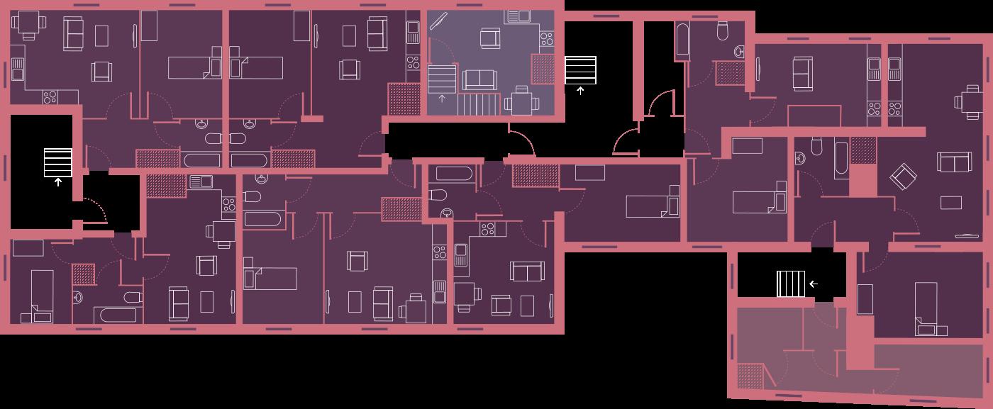 floor plan graphic first floor
