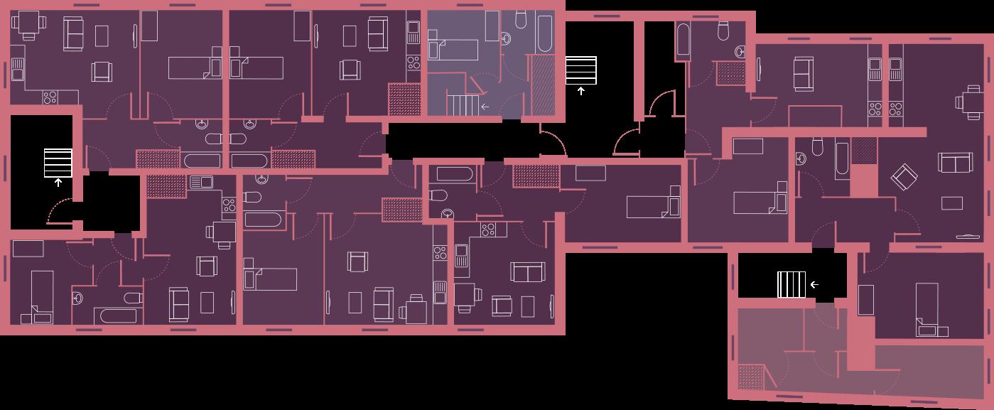 floor plan graphic second floor